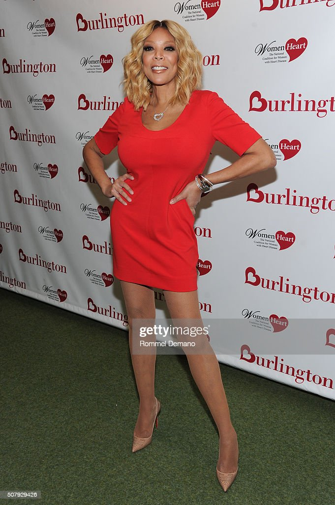 Wendy Williams attends #HealthyHeartSelfie Challenge at Initiative New York Headquarters on February 1, 2016 in New York City.