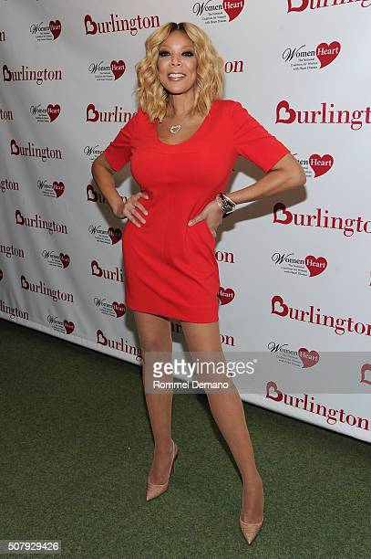 Wendy Williams attends #HealthyHeartSelfie Challenge at Initiative New York Headquarters on February 1 2016 in New York City