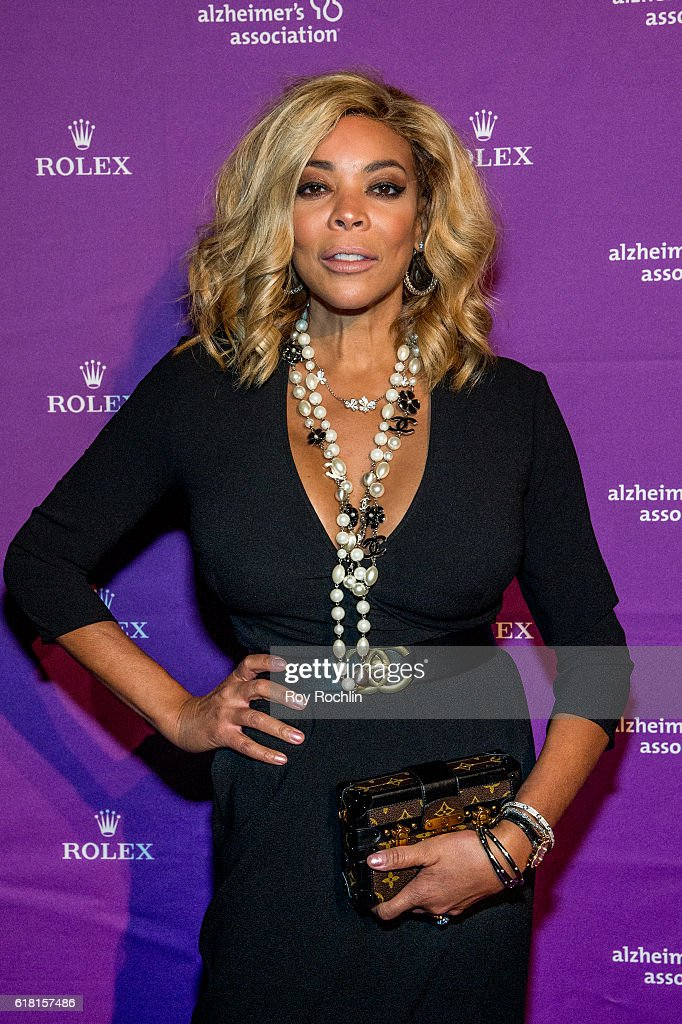 Wendy Williams attends the 33rd Annual Alzheimer's Association Rita Hayworth Gala at Cipriani 42nd Street on October 25, 2016 in New York City.