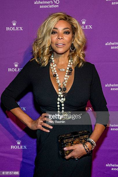 Wendy Williams attends the 33rd Annual Alzheimer's Association Rita Hayworth Gala at Cipriani 42nd Street on October 25 2016 in New York City