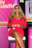 Wendy Williams attends the first of her 17 city 'Say It Like You Mean It Summer Tour' at Pembroke Lakes Mall in celebration of the upcoming season 3...
