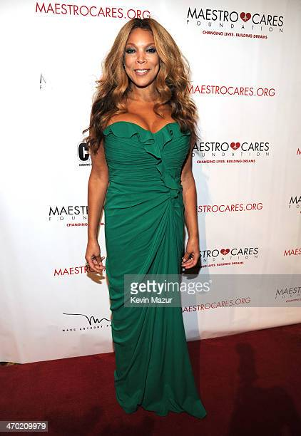 Wendy Williams attends the Maestro Cares First Annual Gala at Cipriani Wall Street on February 18 2014 in New York City