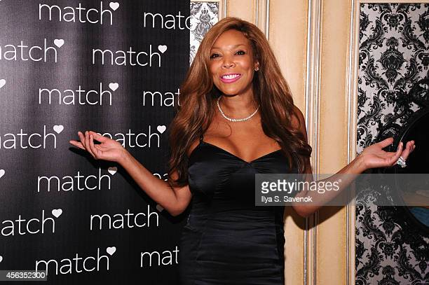 Wendy Williams attends The Match Bachelor Showcase benefiting The American Heart Association hosted by Wendy Williams on September 29 2014 in New...