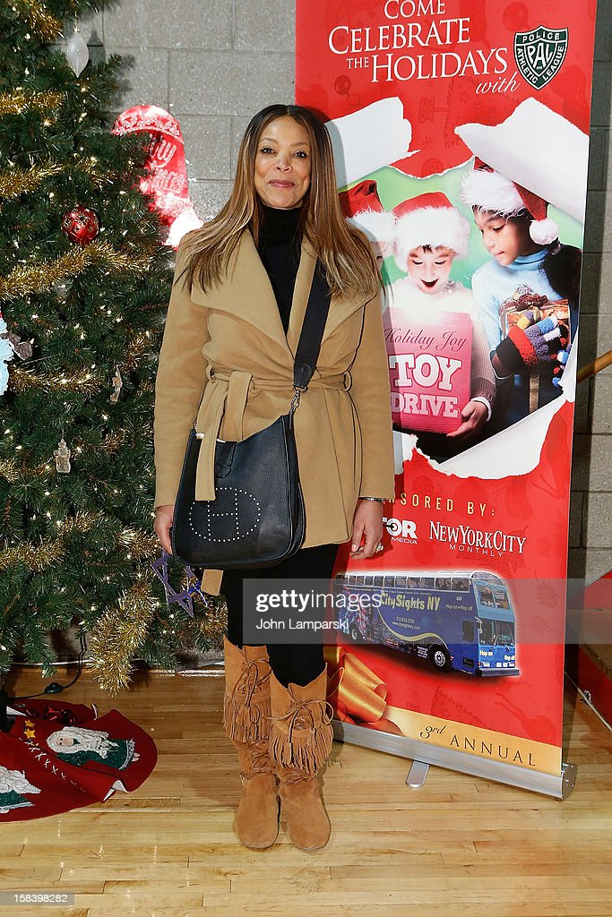 Wendy Williams attends The Police Athletic League And CitySights NY Holiday Party And Toy Drive at PAL's Harlem Center on December 15, 2012 in New York City.