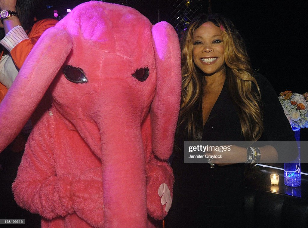 Wendy Williams attends the Wendy Williams Debuts 'Ask Wendy' By Harper Collins Book Release Party at The Pink Elephant on May 9, 2013 in New York City.