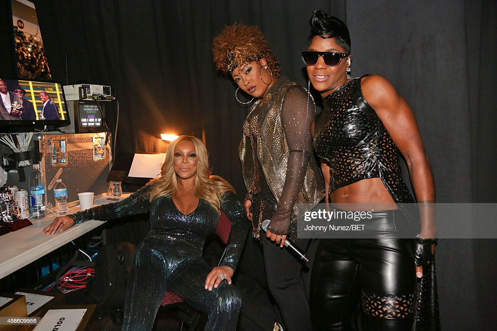 Wendy Williams, Da Brat and Pamela Long attend Centric Presents: The 2014 Soul Train Awards on November 7, 2014 in Las Vegas, Nevada.