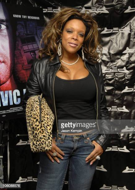 Wendy Williams during 5th Annual Tribeca Film Festival 'Civic Duty' Premiere After Party at BED Nightclub in New York City New York United States