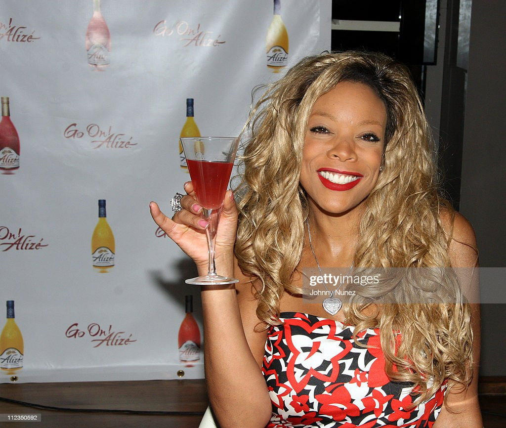 Wendy Williams Alize Advertising Campaign - June 15, 2006