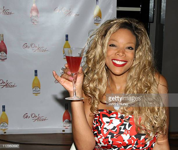 Wendy Williams during Wendy Williams Alize Advertising Campaign June 15 2006 at Blue Fin in NYC in New York City New York United States