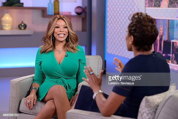 AMERICA Wendy Williams is a guest on 'Good Morning America' 9/18/15 airing on the ABC Television Network