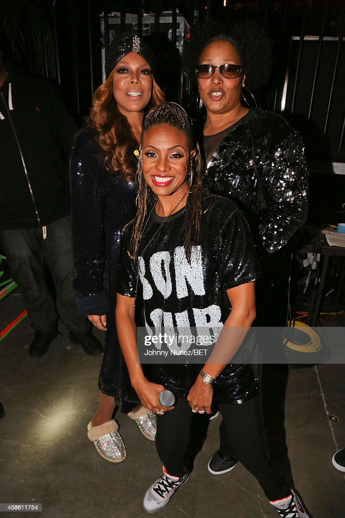 Wendy Williams, Lady of Rage and (front center) MC Lyte attend Centric Presents: The 2014 Soul Train Awards on November 7, 2014 in Las Vegas, Nevada.