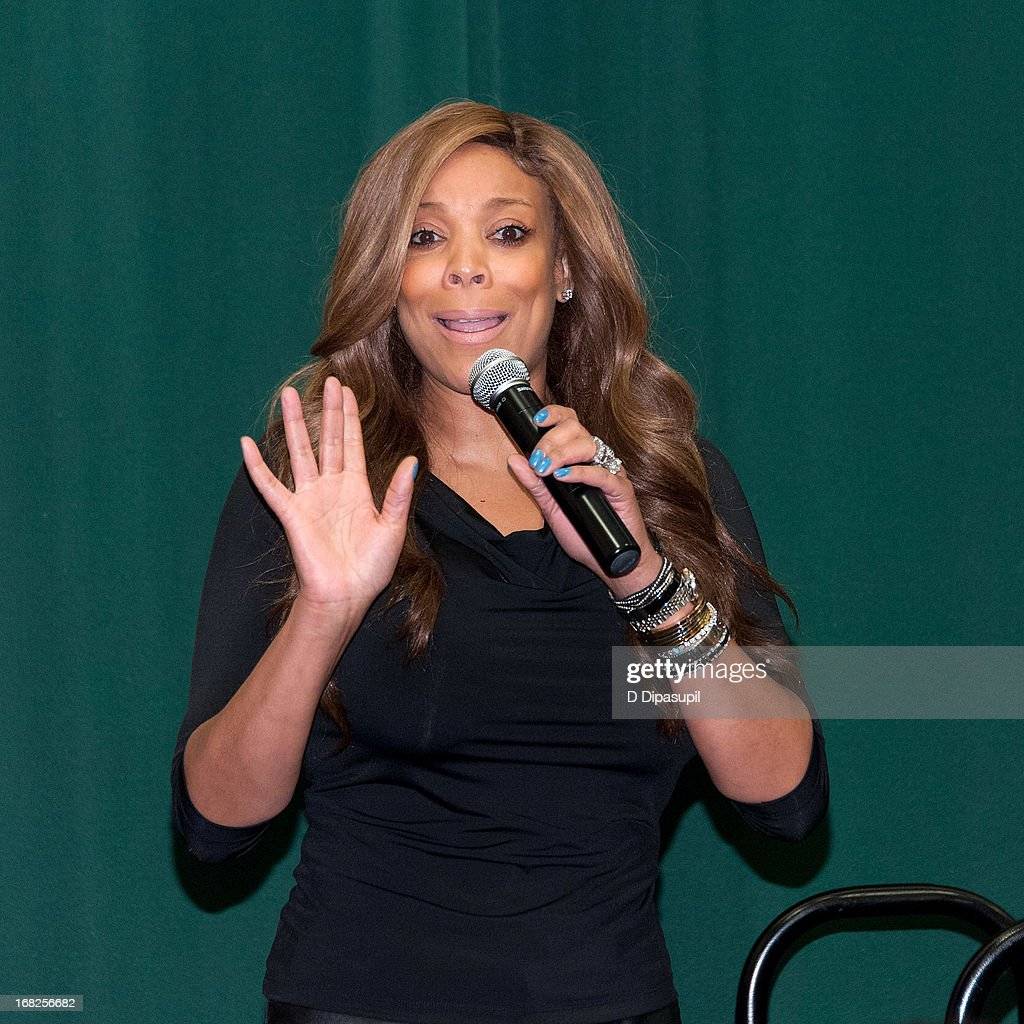 Wendy Williams promotes her book 'Ask Wendy' at Barnes & Noble Tribeca on May 7, 2013 in New York City.
