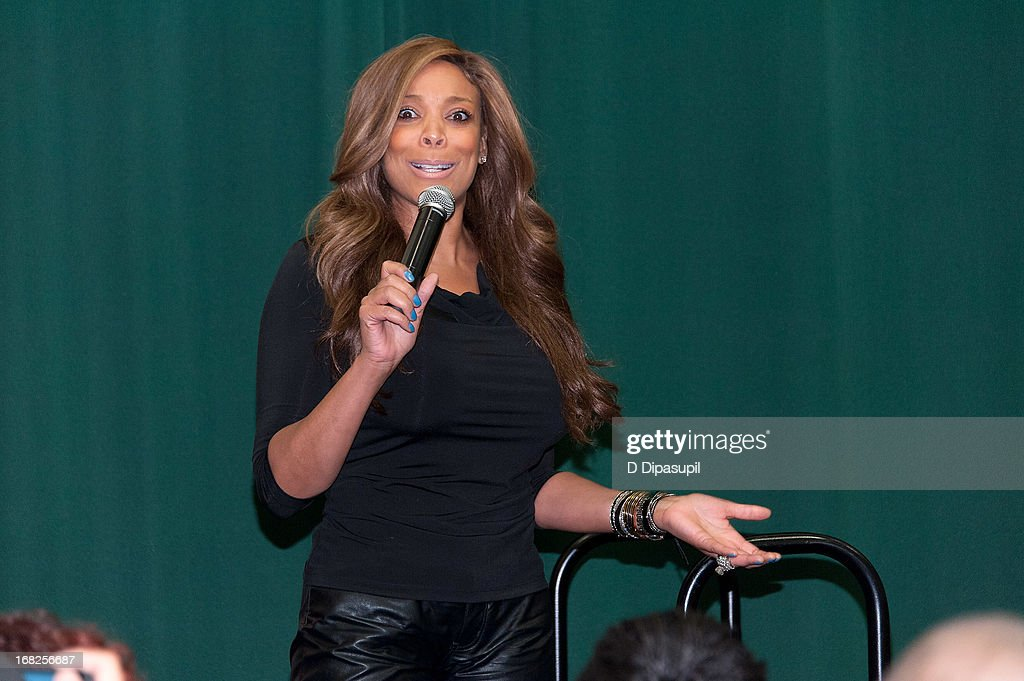 <a gi-track='captionPersonalityLinkClicked' href=/galleries/search?phrase=Wendy+Williams&family=editorial&specificpeople=4134023 ng-click='$event.stopPropagation()'>Wendy Williams</a> promotes her book 'Ask Wendy' at Barnes & Noble Tribeca on May 7, 2013 in New York City.