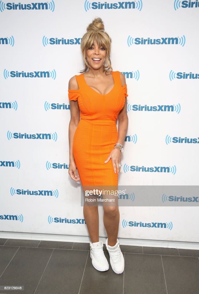 Wendy Williams visits at SiriusXM Studios on July 26, 2017 in New York City.