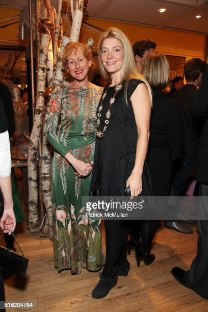 Wendy Wurtzburger and Wendy McDevitt attend Anthropologie Hosts US Book Launch of BLOW BY BLOW at Anthropologie at Rockefeller Center on November 3...