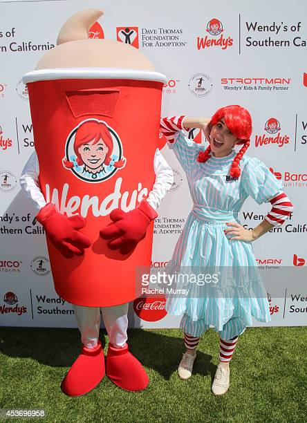 Wendy's at Kickball For A Home Celebrity Challenge Presented By Dave Thomas Foundation For Adoption at the University of Southern California on...