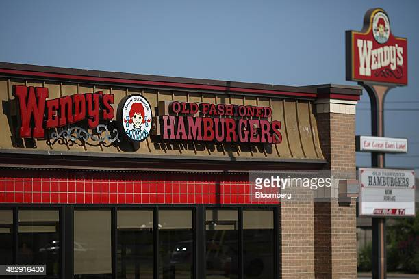 A Wendy's Co restaurant stands in Bentonville Arkansas US on Wednesday July 29 2015 Wendy's Co is scheduled to release quarterly earnings on August 5...