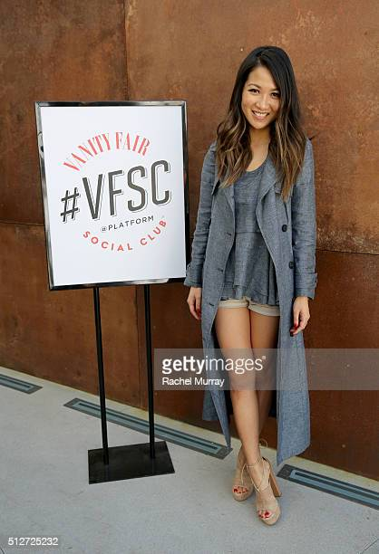 WendyÕs Lookbook blogger Wendy Nguyen arrives to participate in the panel 'A New Paradigm The Power Of The Social Influencer' during the 2016 Vanity...