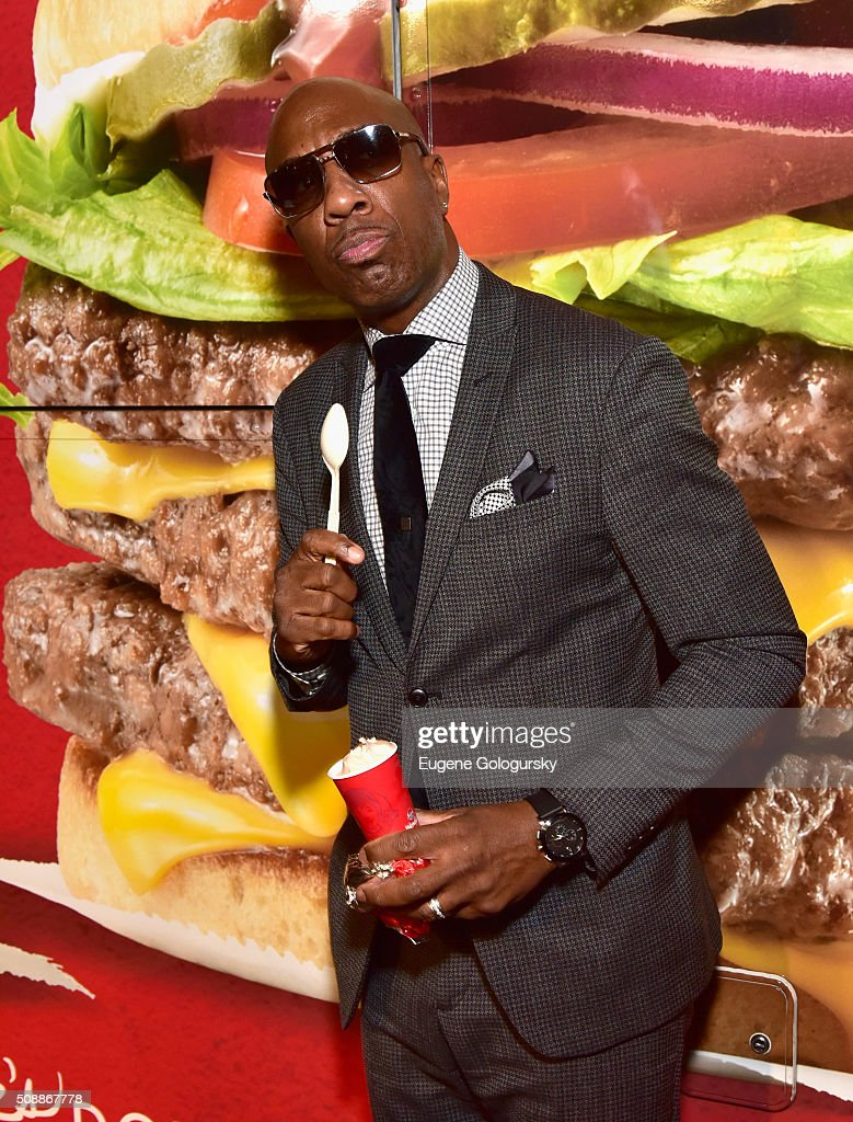 Comedian J. B. Smoove at Wendy's Food Truck Rolls Into Rolling Stone Live at San Francisco Design Center on February 7, 2016 in San Francisco, California.