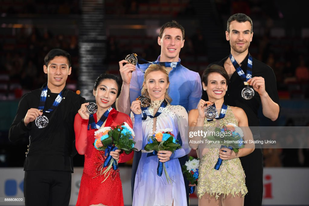 Вэньцзин Суй - Цун Хань / Wenjing SUI - Cong HAN CHN - Страница 11 Wenjing-sui-and-cong-han-of-china-aljona-savchenko-and-bruno-massot-picture-id888808020