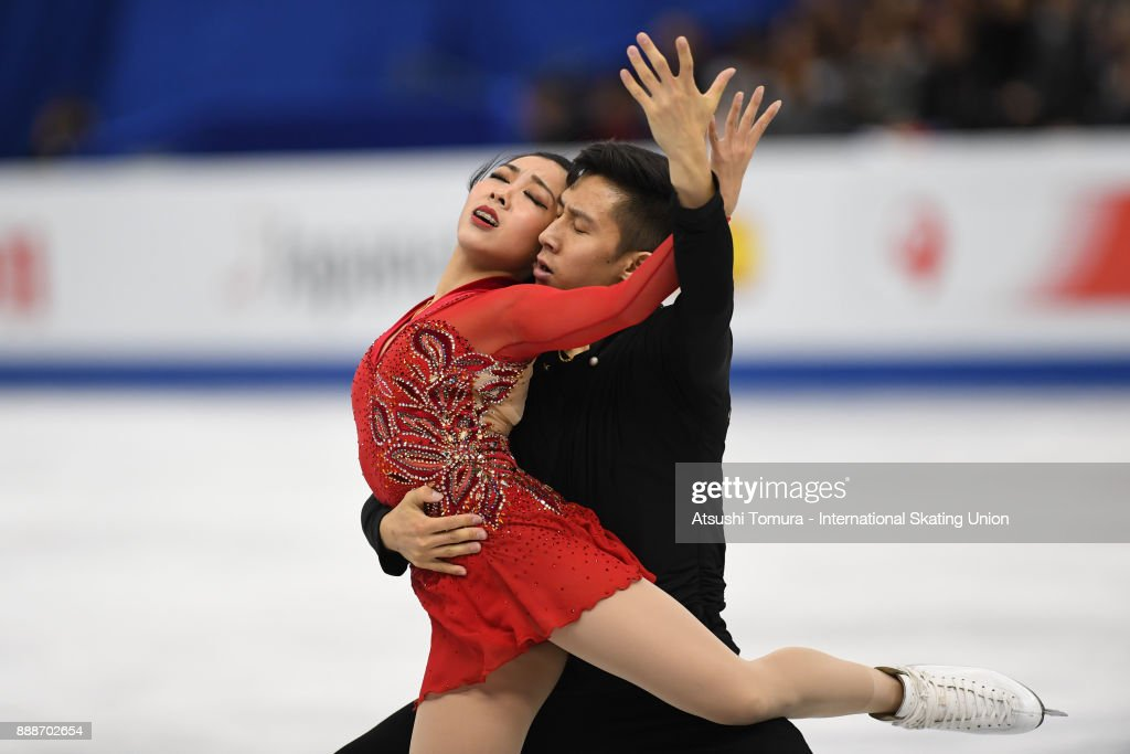 Вэньцзин Суй - Цун Хань / Wenjing SUI - Cong HAN CHN - Страница 11 Wenjing-sui-and-cong-han-of-china-compete-in-the-pairs-free-skating-picture-id888702654