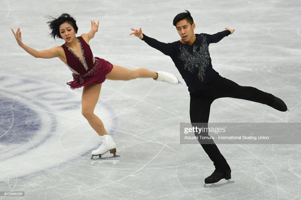Вэньцзин Суй - Цун Хань / Wenjing SUI - Cong HAN CHN - Страница 11 Wenjing-sui-and-cong-han-of-china-compete-in-the-pairs-short-program-picture-id872355256