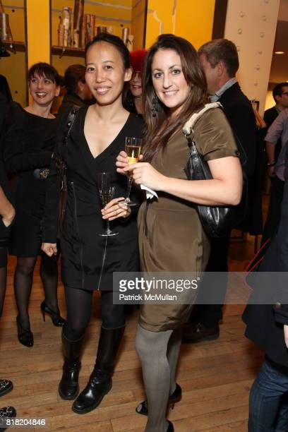 Wenlan Chia and Lindsay Bergman attend Anthropologie Hosts US Book Launch of BLOW BY BLOW at Anthropologie at Rockefeller Center on November 3 2010...