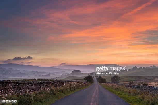 Wensleydale sunset
