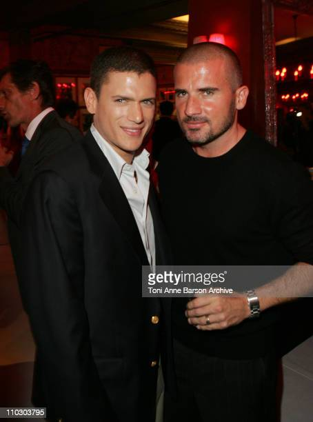 Wentworth Miller and Dominic Purcell during MIPCOM 2006 Opening Night Party Faf LaRage Artist performs charttopping 'Prison Break' Anthem 'Pas Le...