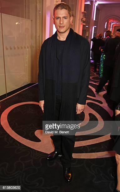 Wentworth Miller attends the Attitude Awards 2016 in association with Virgin Holidays at 8 Northumberland Avenue on October 10 2016 in London England