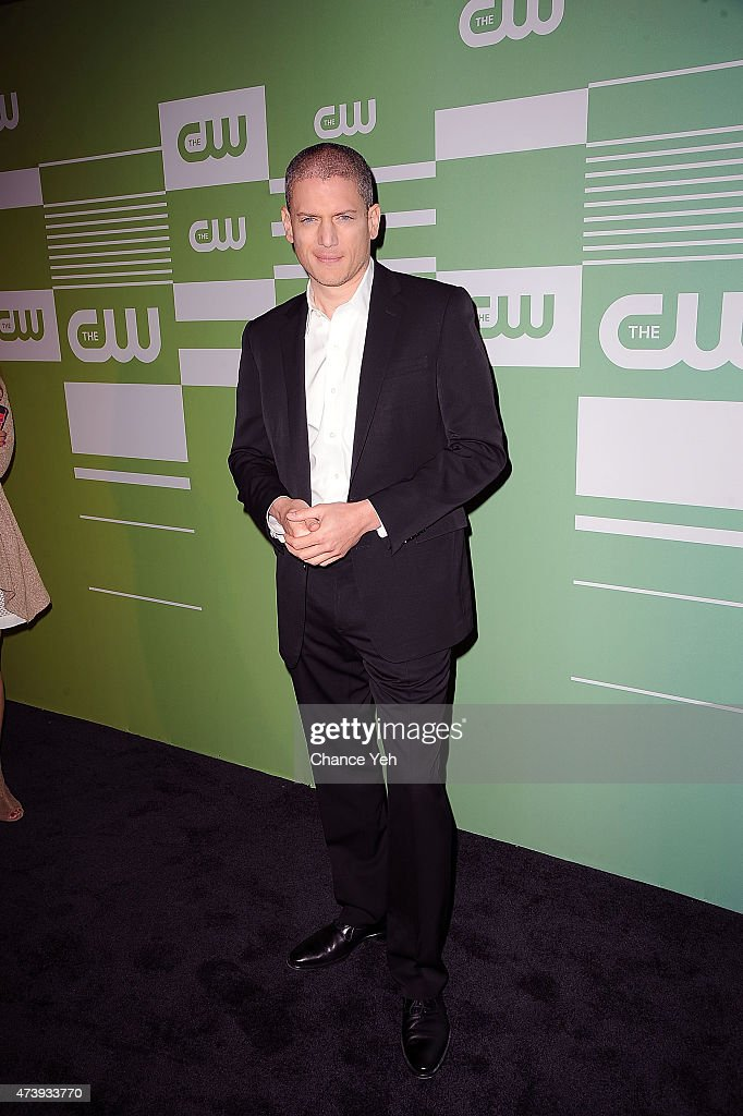 Wentworth Miller attends The CW Network's New York 2015 Upfront Presentation at The London Hotel on May 14 2015 in New York City