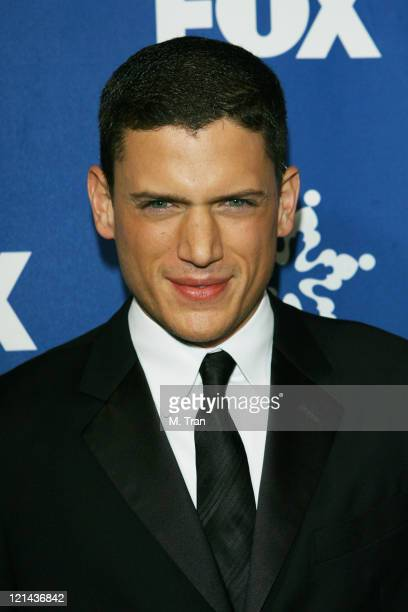 Wentworth Miller during Fox AllStar TCA Party at Villa Sorriso in Pasadena California United States