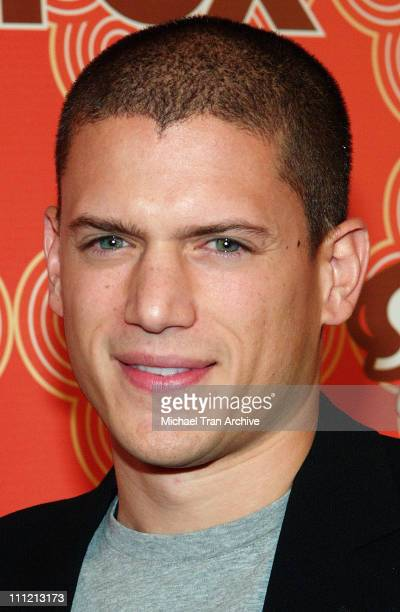 Wentworth Miller during FOX Fall Casino Party Arrivals at Cabana Club in Hollywood CA United States