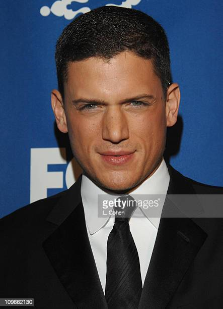 Wentworth Miller during The Fox AllStar Winter 2007 TCA Press Tour Party Red Carpet and Inside at Villa Sorriso in Pasadena California United States