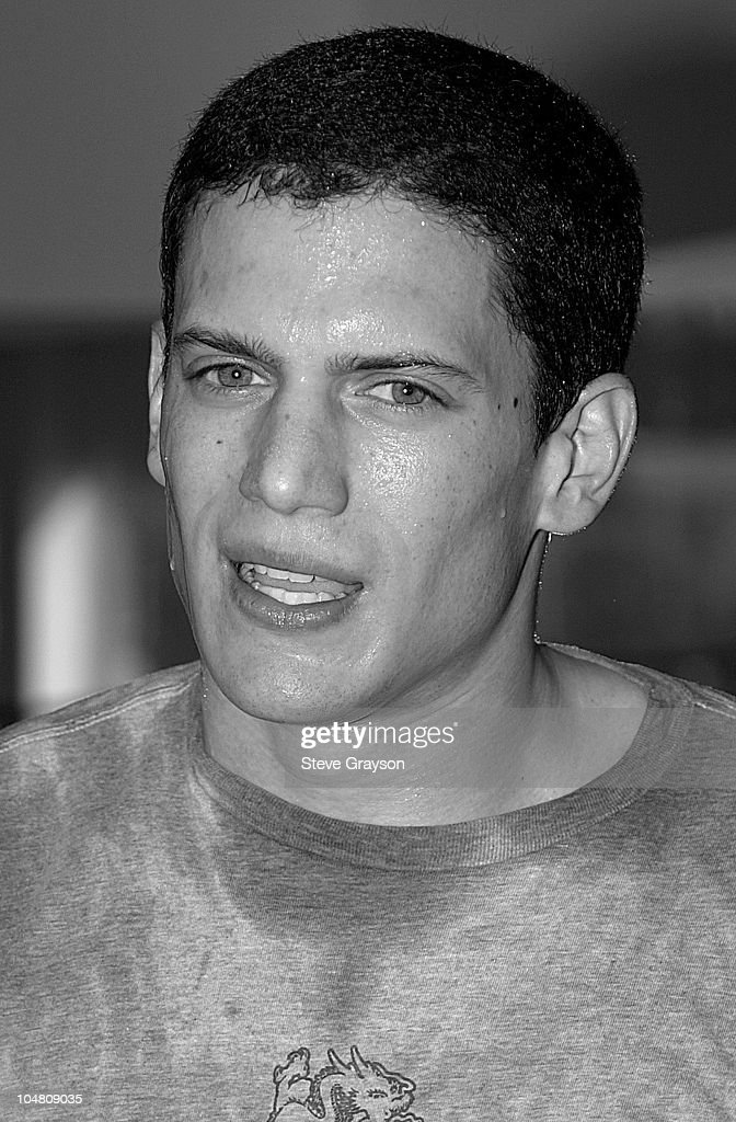 Wentworth Miller trains for his upcoming role in Miramax's 'The Human Stain' starring Anthony Hopkins