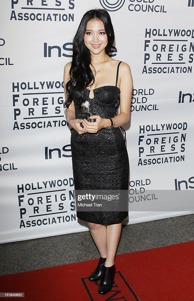Wenwen Han arrives at the Instyle and the Hollywood Foreign Press Association Party during the 2012 Toronto International Film Festival held at Windsor Arms Hotel on September 11, 2012 in Toronto, Canada.