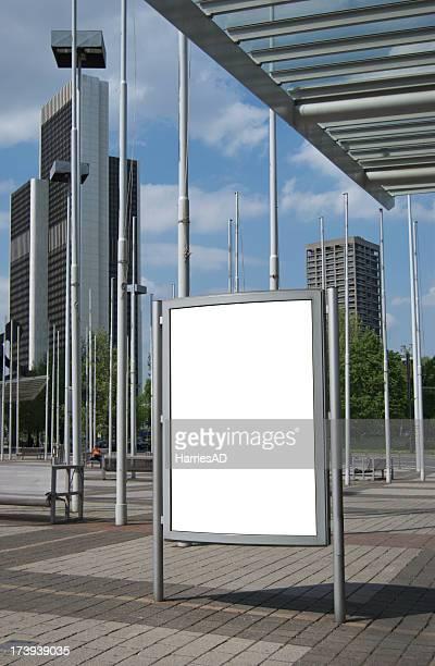 Werbefläche (Citylight Plakat)