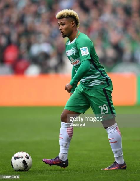 FUSSBALL 1 BUNDESLIGA SAISON SV Werder Bremen SC Freiburg Serge Gnabry
