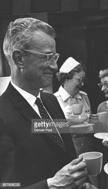 NOV 18 1961 were honored for hours served at the tea Credit Denver Post