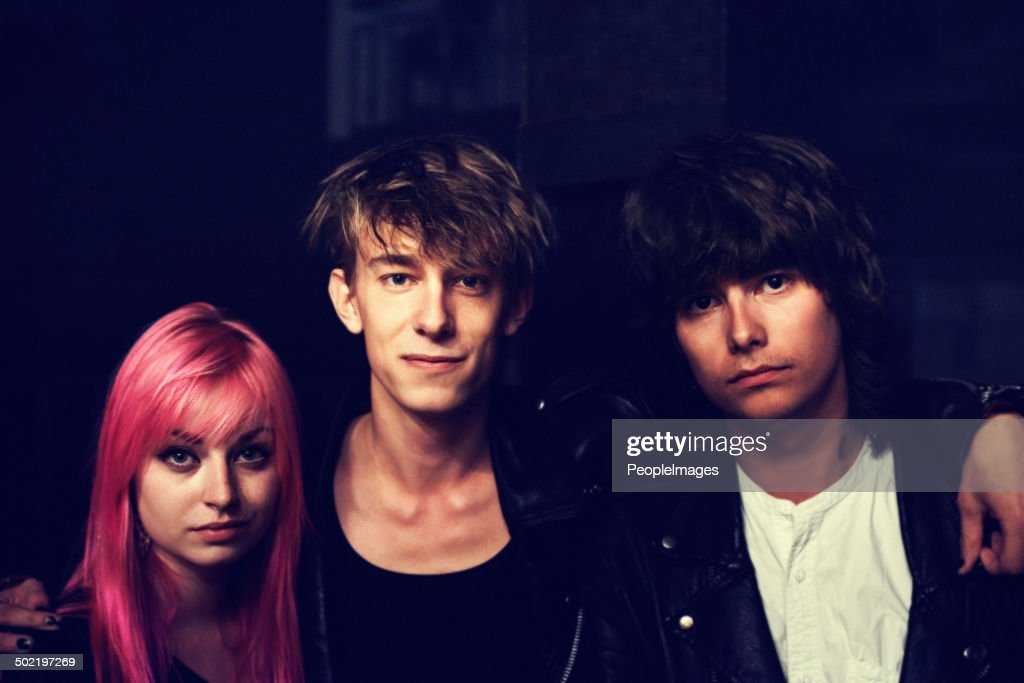 We're the band : Stock Photo