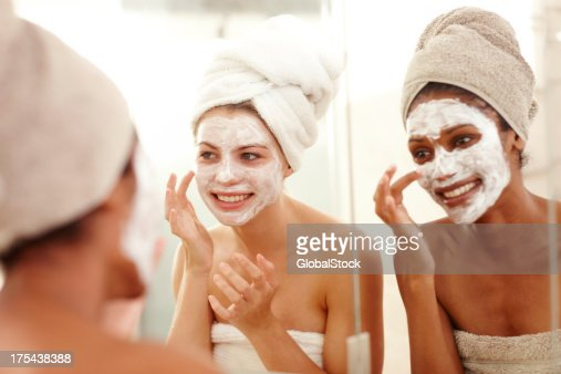 We're worth this pampering : Stock Photo