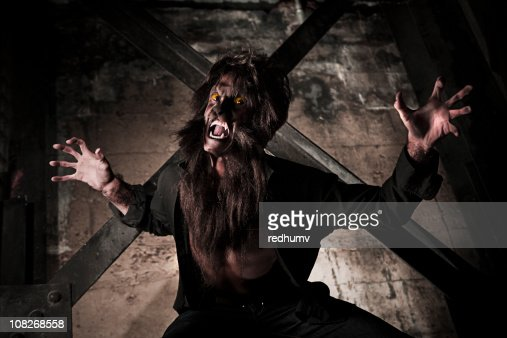 Werewolf Attack : Stock Photo