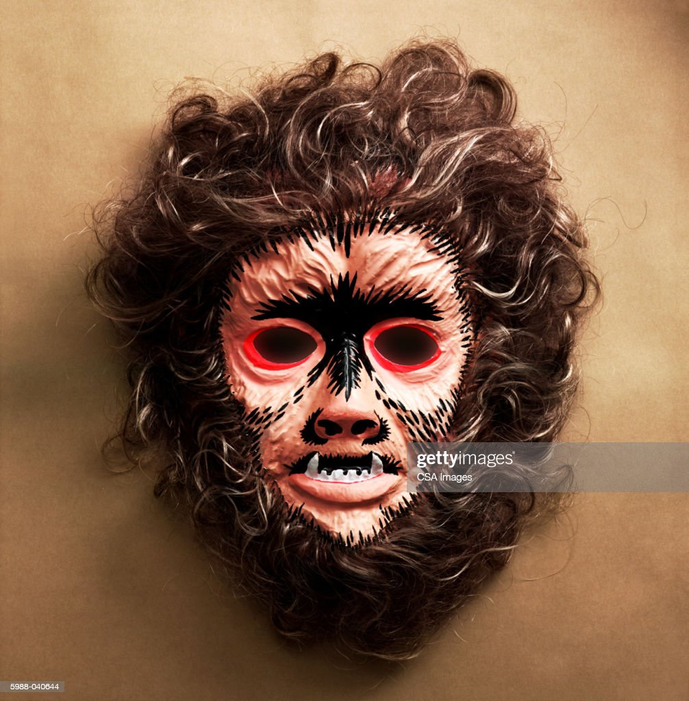 Werewolf Mask : Stock Photo