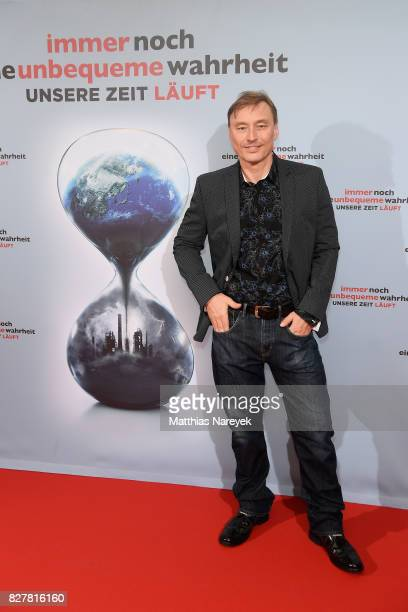 Werner Daehn attends a special screening of 'An Inconvenient Sequel Truth to Power' at Zoo Palast on August 8 2017 in Berlin Germany