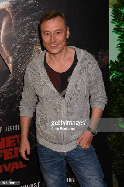 Werner Daehn attends the 'Planet der Affen' Special Screening in Berlin at Astor Film Lounge on June 23 2017 in Berlin Germany