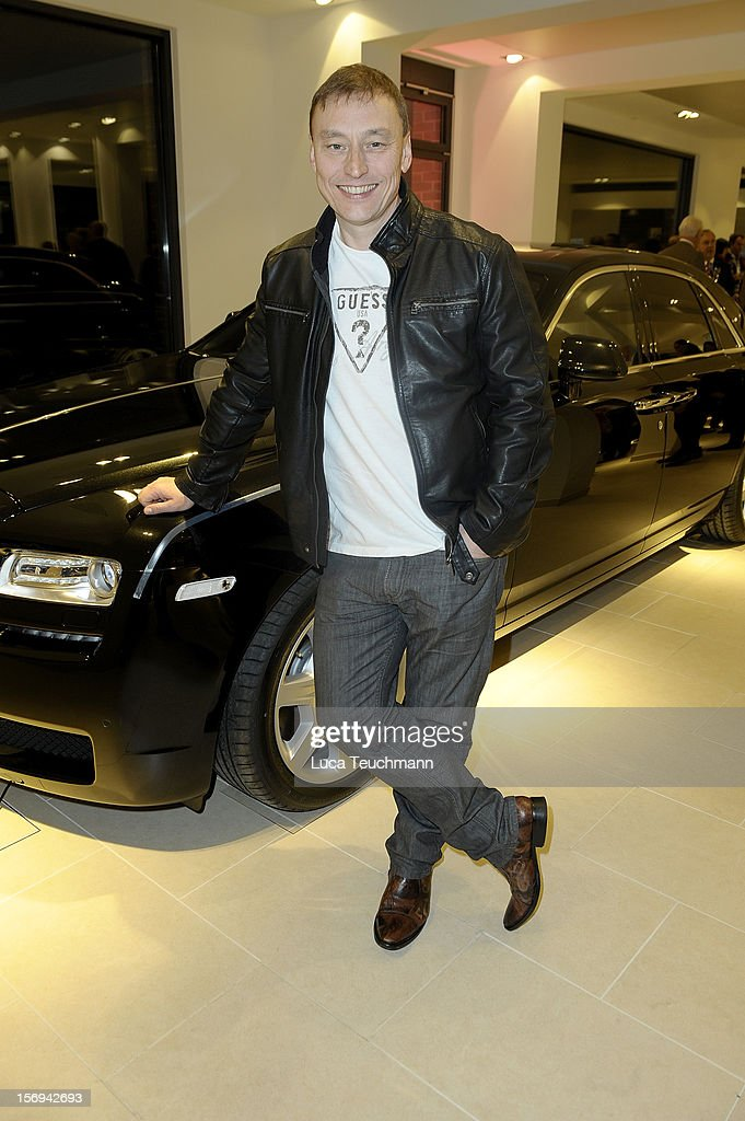 Werner Daehn attends the Rolls-Royce Motorcars Berlin Opening on November 24, 2012 in Berlin, Germany.