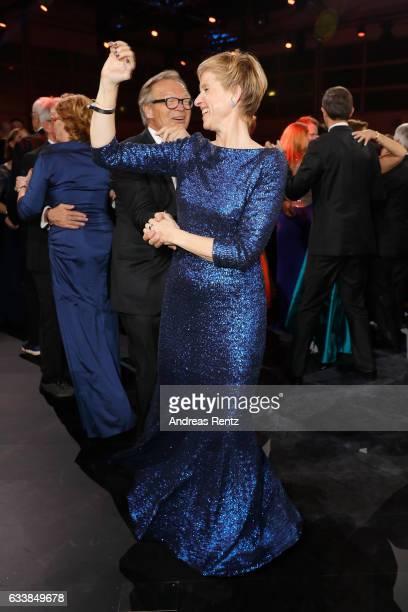 Werner E Klatten dances with Susanne Klatten during the German Sports Gala 'Ball des Sports 2017' on February 4 2017 in Wiesbaden Germany