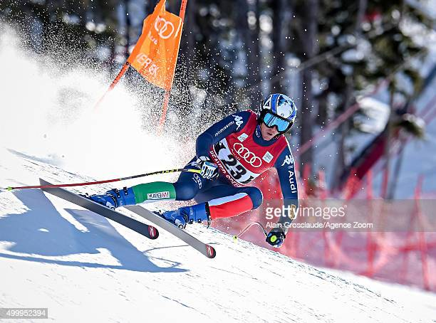 Werner Heel of Italy competes during the Audi FIS Alpine Ski World Cup Men's Downhill on December 04 2015 in Beaver Creek Colorado