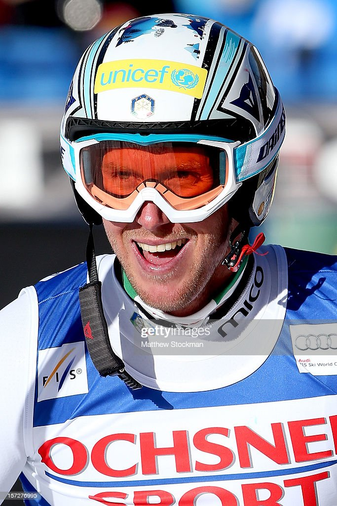<a gi-track='captionPersonalityLinkClicked' href=/galleries/search?phrase=Werner+Heel&family=editorial&specificpeople=858153 ng-click='$event.stopPropagation()'>Werner Heel</a> #4 of Italy leaves the finish area after his run during the men's Super G on the Birds of Prey at the Audi FIS World Cup on December 1, 2012 in Beaver Creek, Colorado.