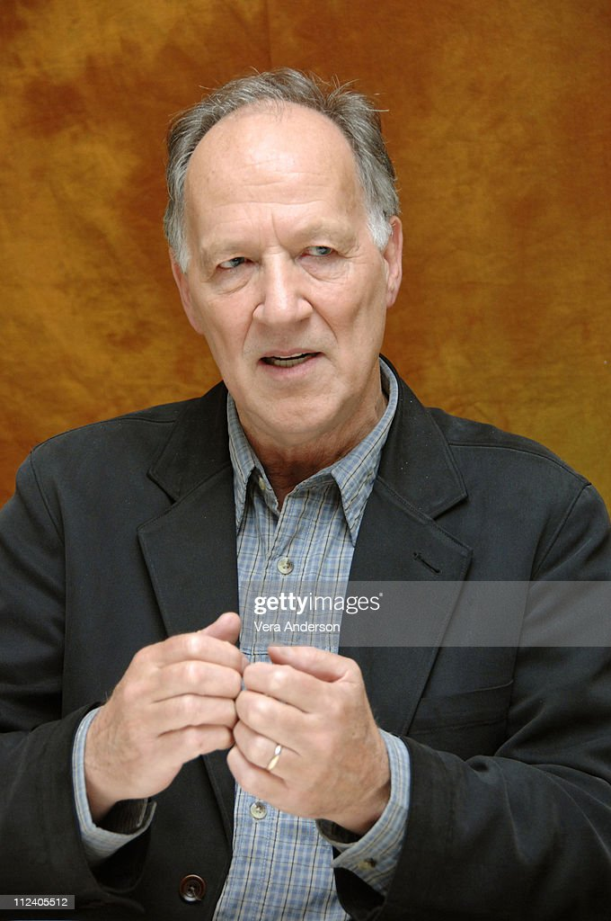 Werner Herzog during 'Rescue Dawn' Press Conference with Jeremy Davies, Steve Zahn, Christian Bale and Werner Herzog at Four Seasons in Beverly Hills, California, United States.